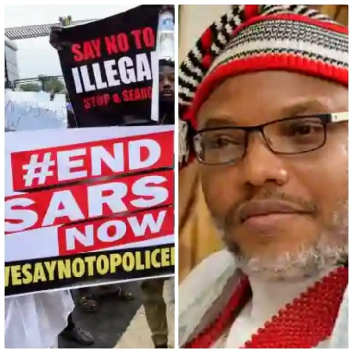 See What Nnamdi Kanu Said About End SARS Protest