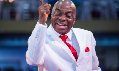 Bishop Oyedepo is trending on Twitter this afternoon because one of his church members called him out to lend his voice to the End SARS protest.