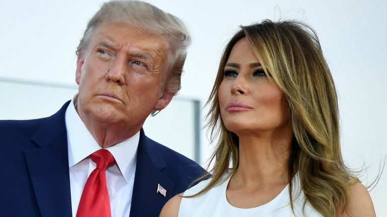 The World Reacts As Trump And His Wife Test Positive To COVID-19