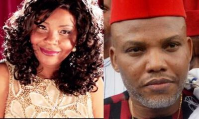 IPOB TEARS APART: Like Uche Mefore, Nnamdi Kanu 's Secretary Resigns