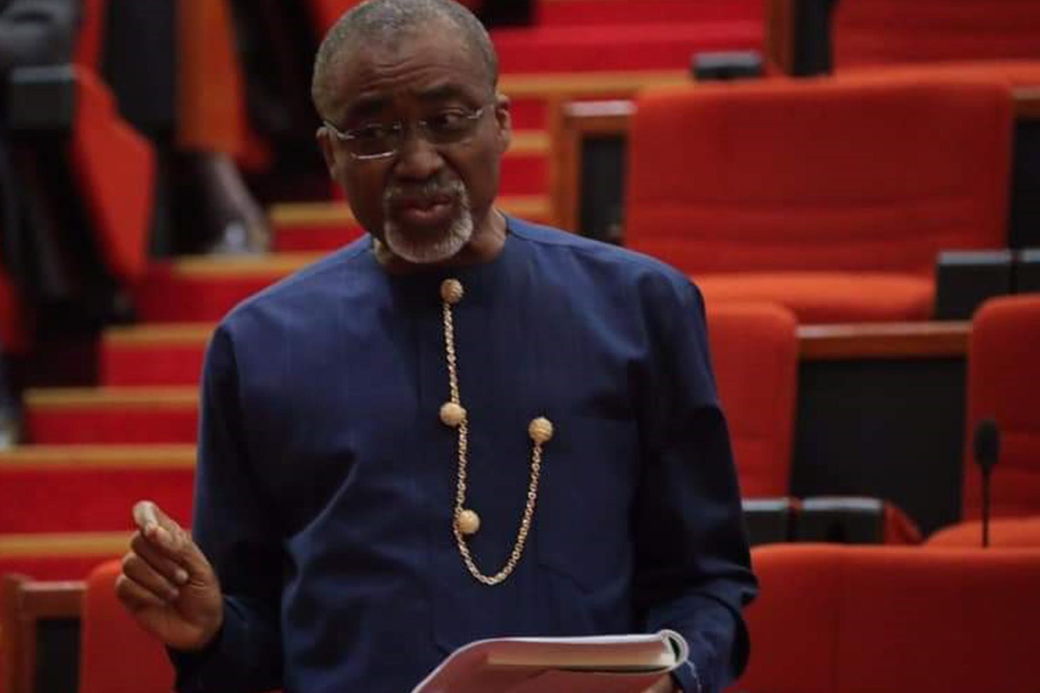 The only person from South-East in Aso Villa is a photographer - Abaribe