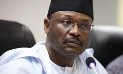 Why INEC Chairman, Mahmood Yakubu , Handed Over