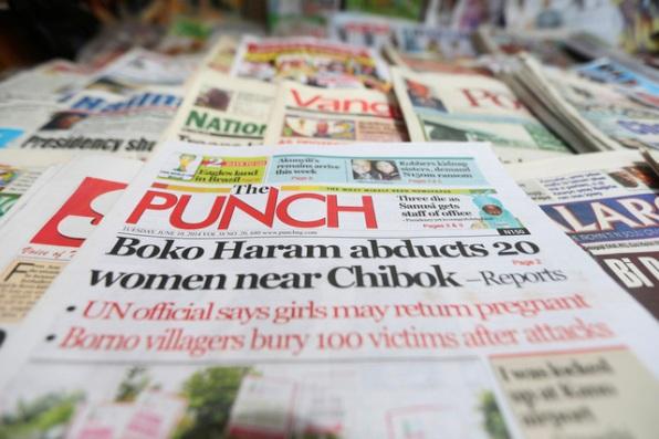 Top Ten Nigerian Newspaper Headlines For Thursday 5Th November 2020