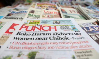Nigerian Newspapers :10 News You Need To Know This Sunday Morning