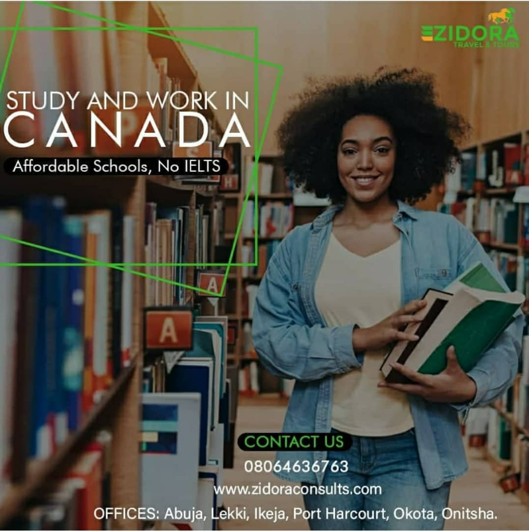 Study and live in Canada 2021 made easy with Zidora Consults