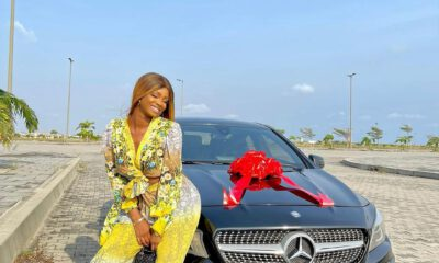 PHOTOS : Actress Iyabo Ojo 's Daughter Buys Herself A Benz