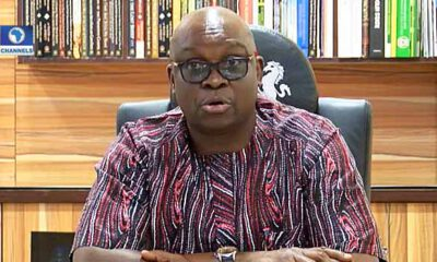 Fayose Lists What Buhari's Govt Will Do To Reps Who Summoned Buhari