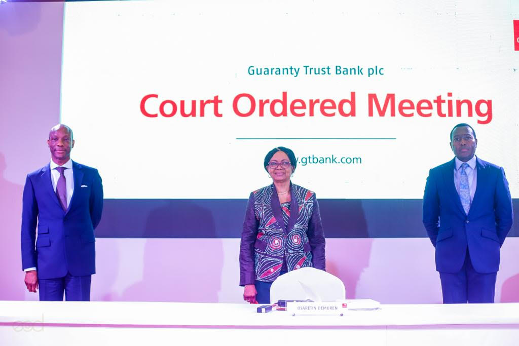 Shareholders Approve GTBank's Planned HoldCo Structure