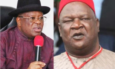 Umahi Attacks Pius Anyim , Sacks All Political Appointees From His LGA