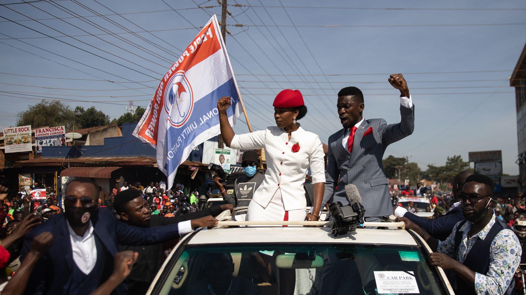UGANDA DECIDES : Nigerians In Search Of Their Bobi Wine