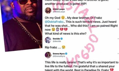Dr Frabz 's Death : Celebrities Pour Encomiums On The Beat Maker