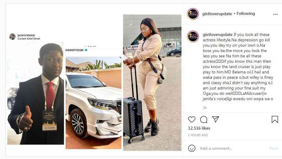 How A Married Oil Mogul Allegedly Bought Destiny Etiko Her New Landcruiser