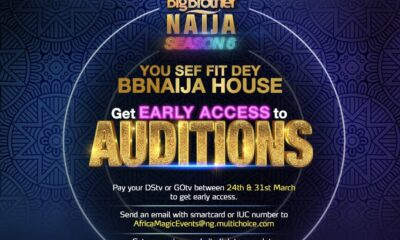 BBNaija Season 6: All You Need to Know About Early Access Auditions