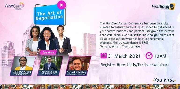 FIRSTBANK CONVENES THE FOURTH EDITION OF ITS ANNUAL FIRSTGEM EVENT, REINFORCES ITS LEADING ROLE IN PROMOTING WOMEN EMPOWERMENT