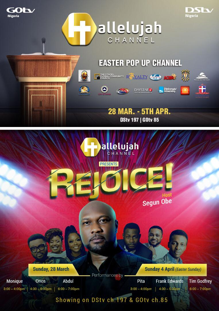 Here's All You Need to Know About Segun Obe, the Host of the new Gospel Show REJOICE! on DStv And GOtv