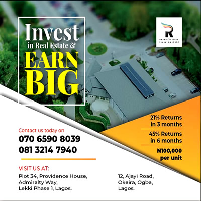 HOUSING FOR ALL; RESAU CITATION INVESTMENT MAKES 1.5M NIGERIANS LANDLORD BY 2025
