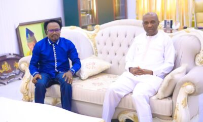 Primate Ayodele Pays Prophet Joshua Iginla A Condolence Visit In Abuja (PHOTOS)