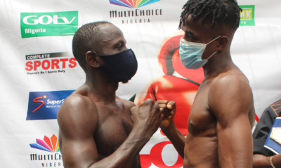 Real One, Baby Face Go for WBF World Titles as GOtv Boxing Night 22 Holds Today