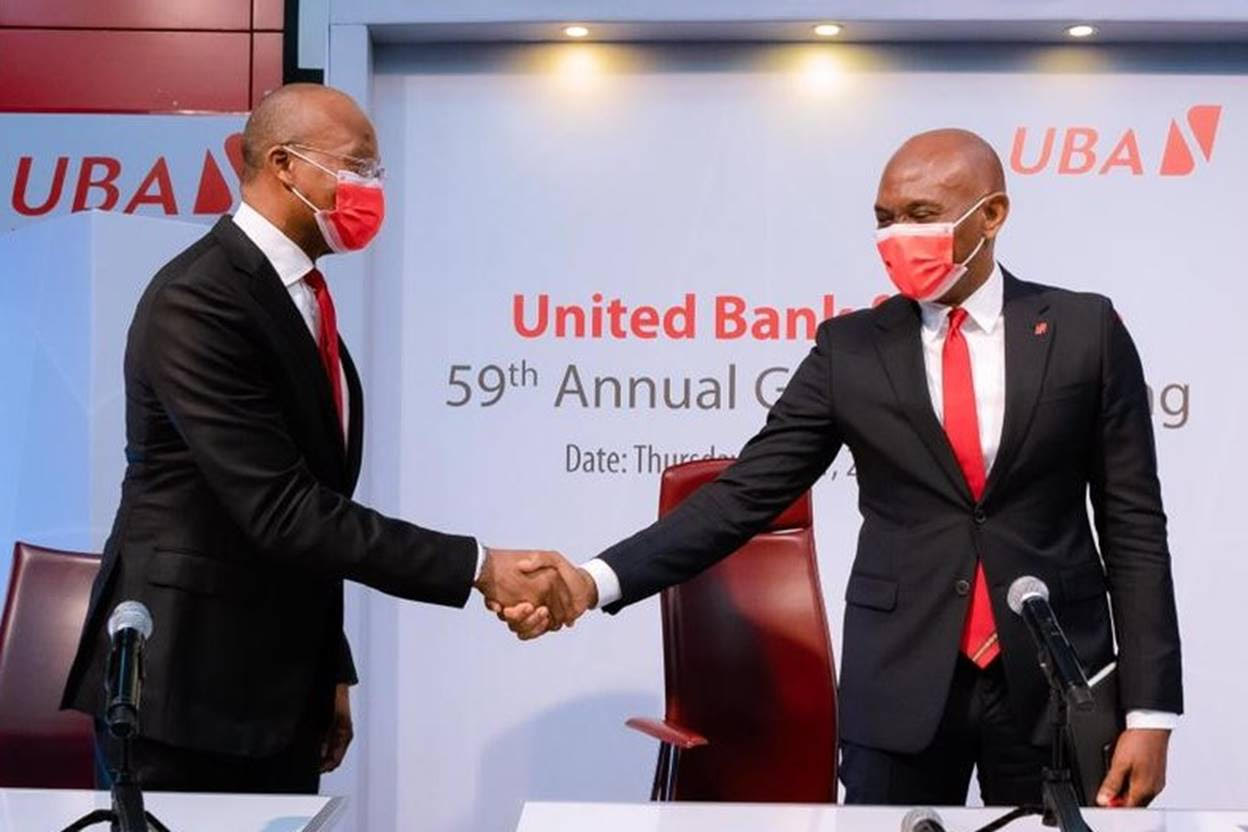 UBA is Well-Positioned to Benefit from Recovery Trends in 2021 says Elumelu Shareholders optimistic about future earnings prospects