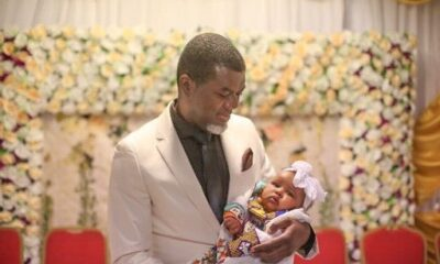 PARIS PROTEST : Reno Omokri's Wife Denies Being The Mother Of His Fourth Child
