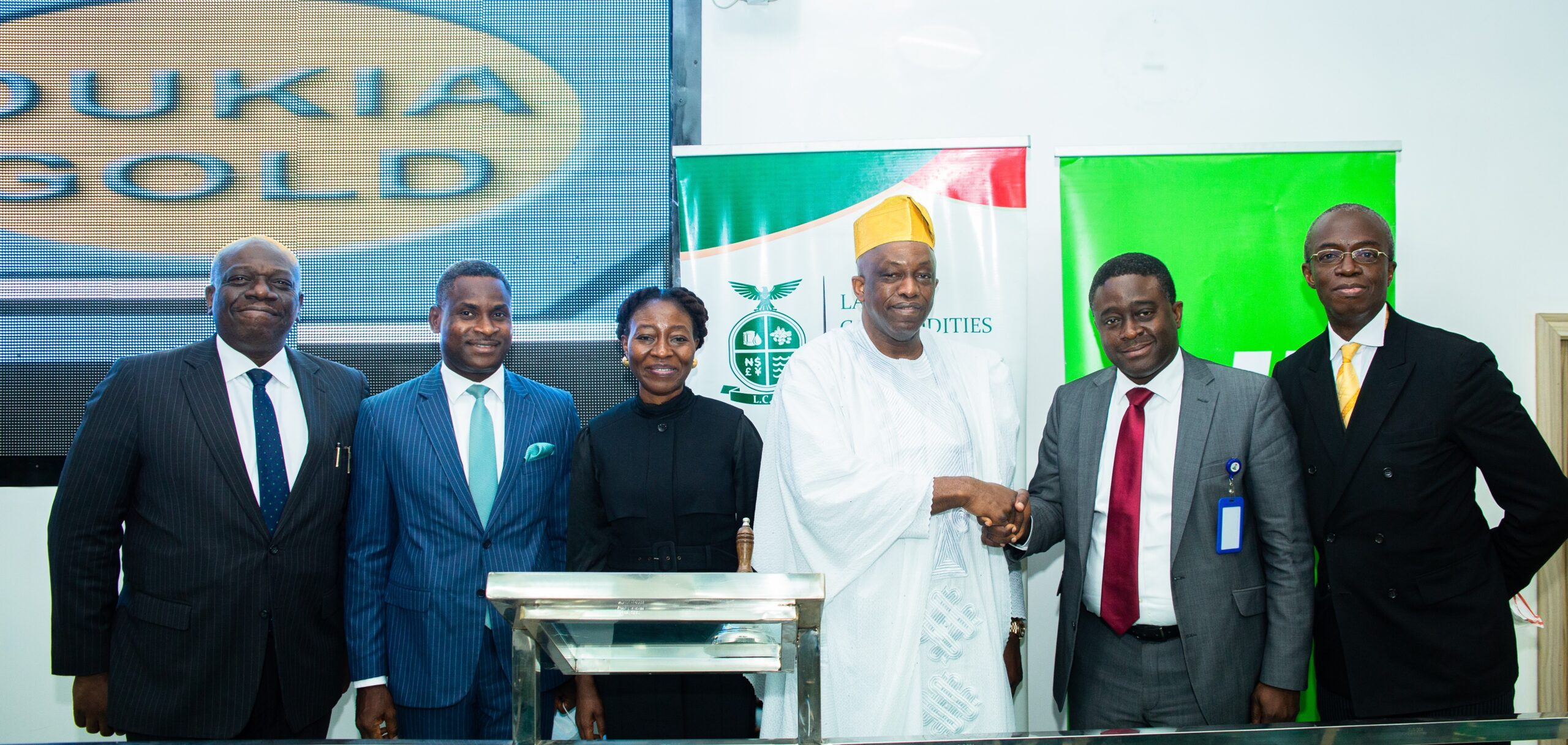 Listing on LCFE: Heritage Bank-Dukia Gold set to unlock N344trillion market worth of gold
