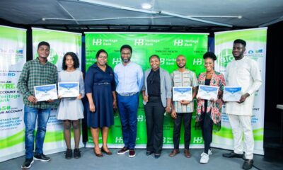 Heritage Bank partners Silverbird to empower young creative Nigerians… Train 1st batch of Ynspyre Project