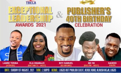 Bethnews @ 6: Exceptional Leadership Awards 2021 And Publishers 40th Birthday Billed For August 1st